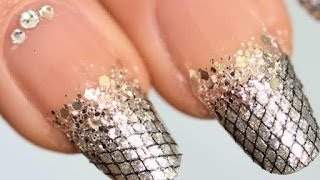 Panic nail art : crocodile skin effect EASY