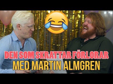Torra skämt och ordvitsar - Den som skrattar förlorar - med Martin Almgren