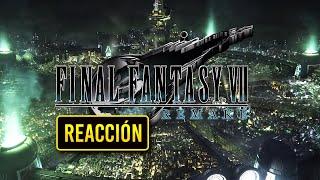 INTENTA NO LLORAR!! 😭 | Mi REACCIÓN a FANTASY VII REMAKE (Opening Movie) ¡UNA INTRO EXTENDIDA!!