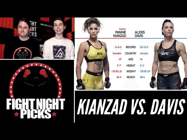 UFC 263: Pannie Kianzad vs. Alexis Davis Prediction
