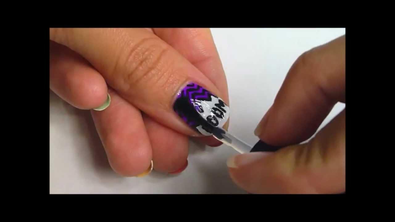 Retro Comic Nail Art Youtube
