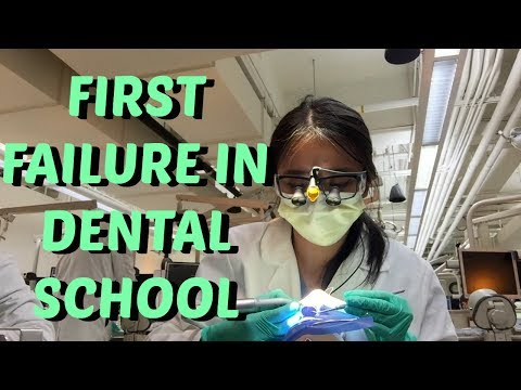 My First Failure In Dental School    Brittany Goes to Dental School