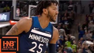 Minnesota Timberwolves vs Houston Rockets 1st Half Highlights / Game 4 / 2018 NBA Season