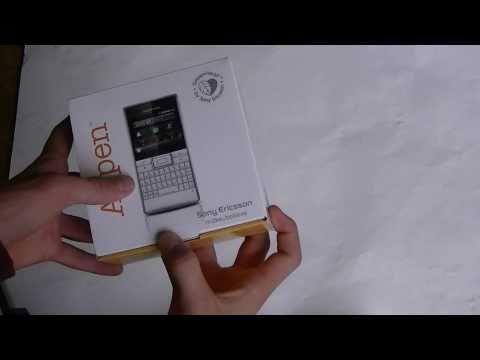 Sony Ericsson Aspen unboxing