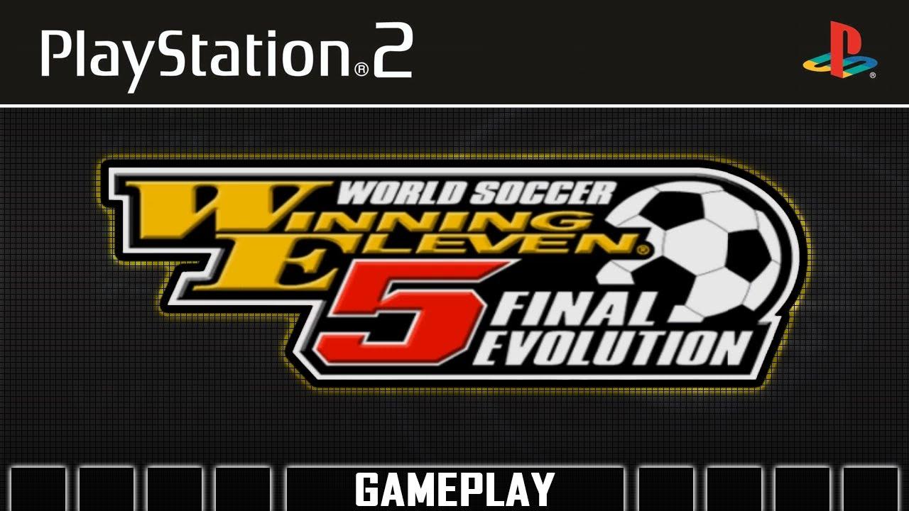 World Soccer Winning Eleven 5 Final Evolution Ps2 Gameplay