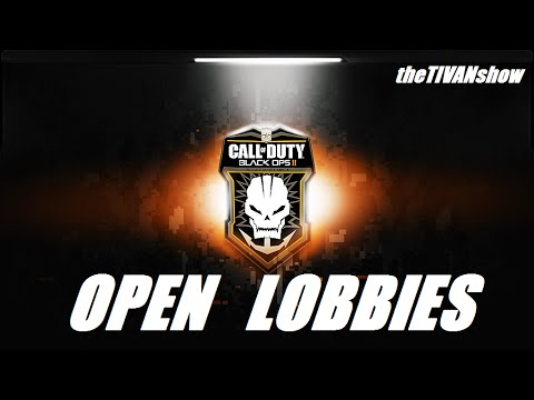 CALL OF DUTY - BO2 OPEN LOBBIES - PS3 - FREE FOR ALL and PARTY GAMES