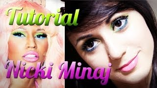 | Tutorial Inspiração - Nicki Minaj | by Jana Make Up