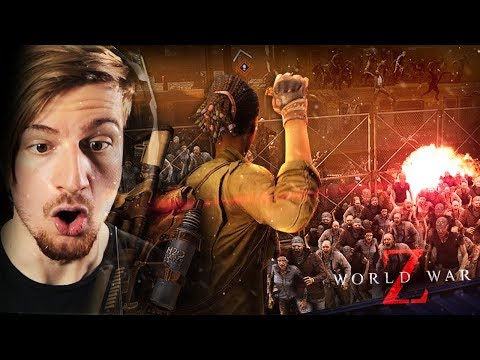 THE ZOMBIES ARE LITERALLY FLOODING IN.. || WORLD WAR Z: The Game (CH1 ENDING) thumbnail
