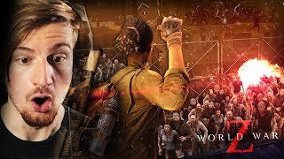 THE ZOMBIES ARE LITERALLY FLOODING IN.. || WORLD WAR Z: The Game (CH1 ENDING)