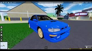Subaru Impreza 22B! (Condução final) Roblox