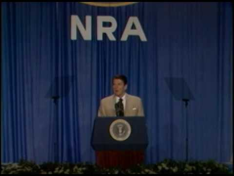 President Reagan's Remarks to the National Rifle Association on May 6, 1983