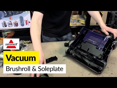 How To Replace The Brush Roll On An Upright Vacuum Doovi