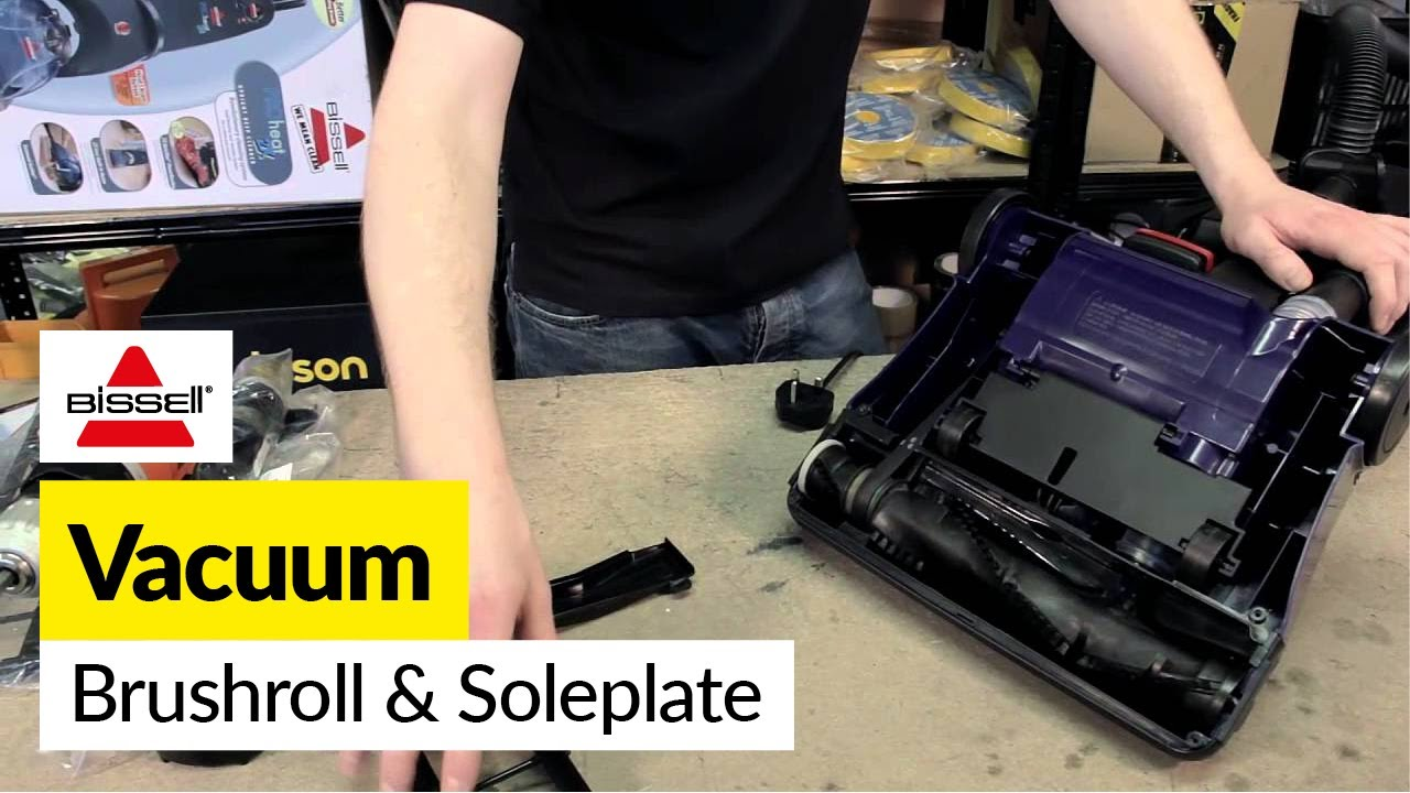 How To Replace The Brush Roll And Soleplate On A Bissell