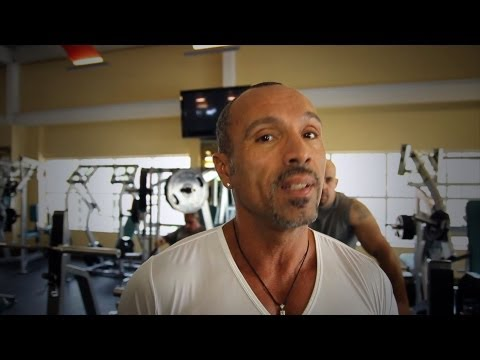 David Morales at the Gym