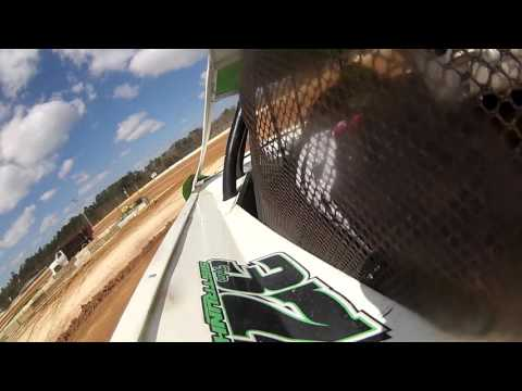 Tyler Sistrunk Motorsports - Putnam County Speedway - 2-7-2016 - Pactice In Car Camera