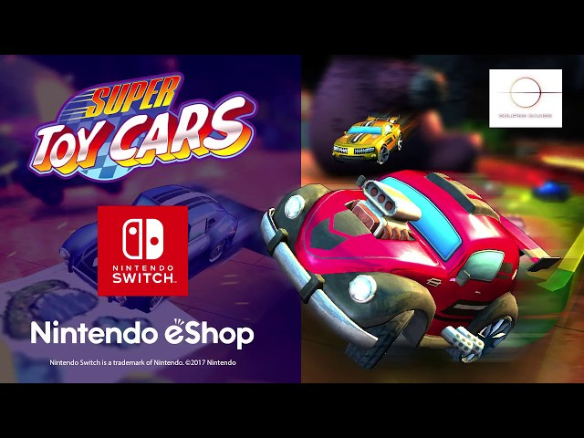 Super Toy Cars Trailer for Nintendo Switch
