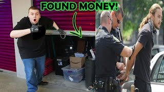 I Bought A THIEVES Storage Unit And FOUND MONEY! I Bought An Abandoned Storage Unit!