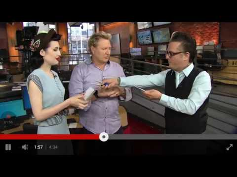 The Sentimentalists on CP24 Breakfast with Steve Anthony