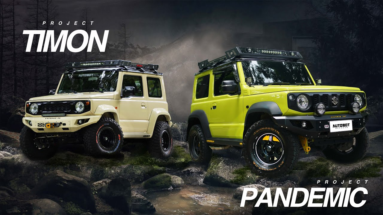 Project Timon x Pandemic // Suzuki Jimny 2020