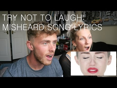 Try Not to Laugh Challenge FAIL! - MISHEARD SONG LYRICS
