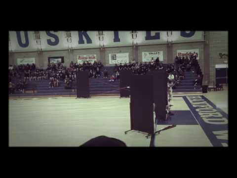 2017 Lemoore High School Winter Guard Performance