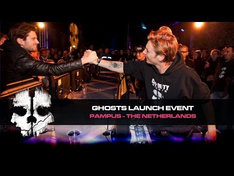 Call of Duty: Ghosts launch event @ Pampus - The Netherlands