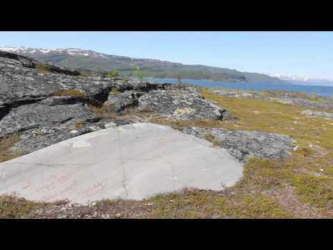 Prehistoric rock art in Alta, Norway