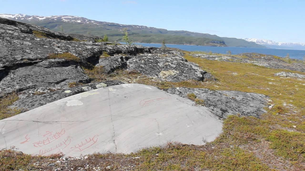 Prehistoric rock art in alta norway youtube