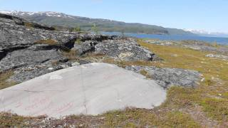 Prehistoric rock art in Alta, Norway