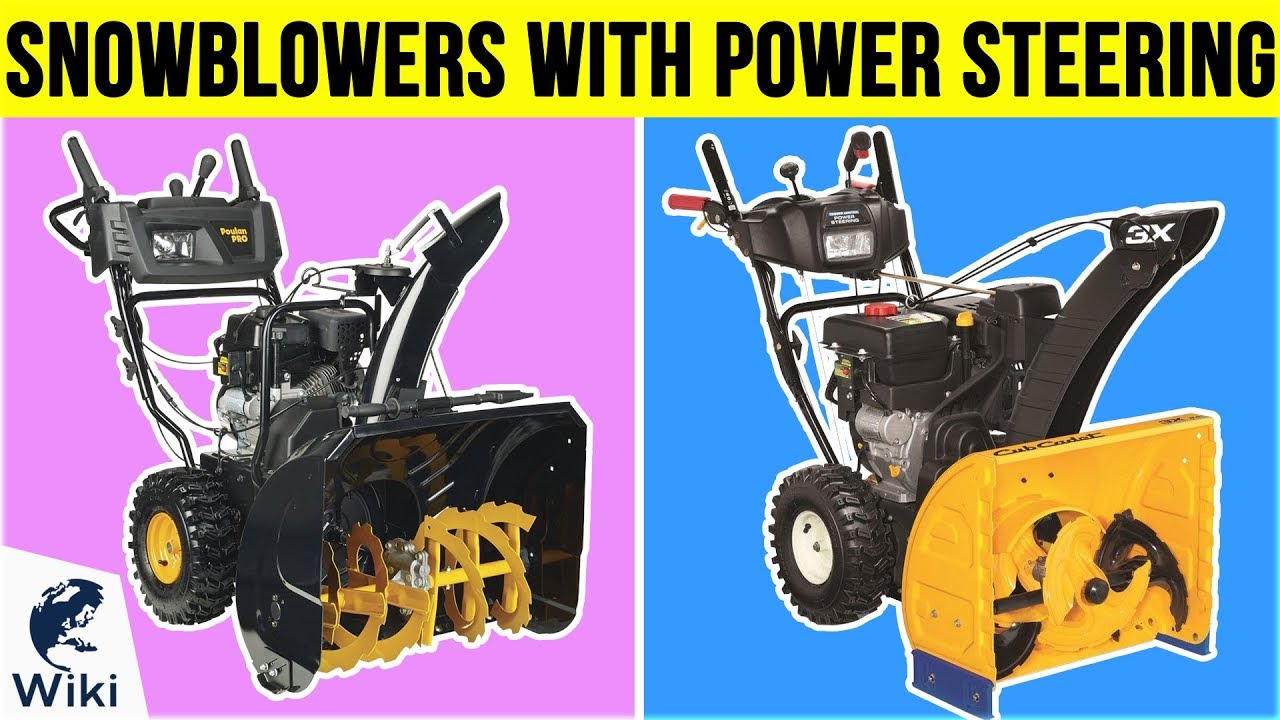 6 Best Snowblowers With Power Steering 2019 Youtube