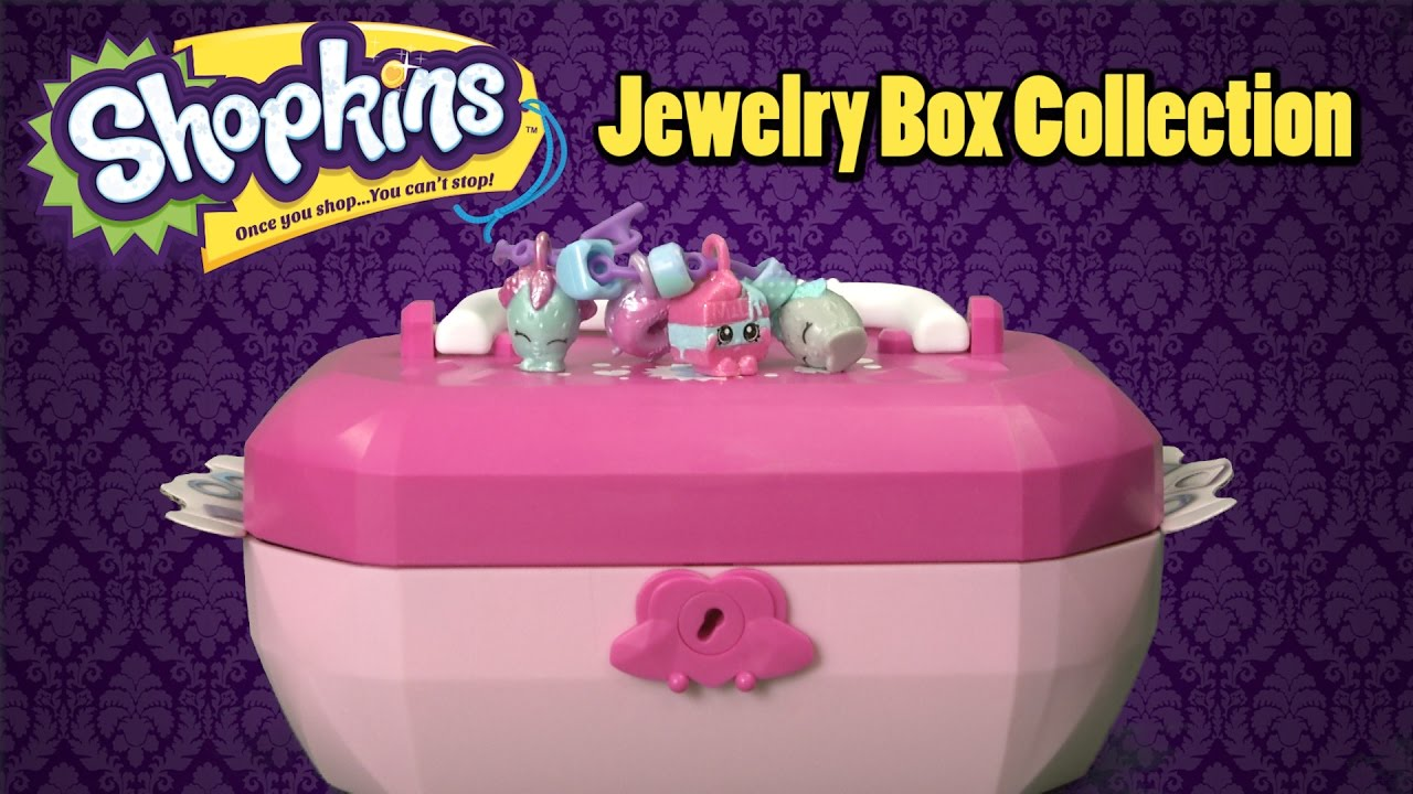 Shopkins Jewelry Box Collection from Moose Toys YouTube
