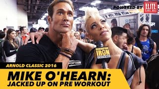 mike o hearn interview jacked up on pre workout   generation iron