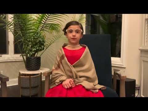 Hadi School Student as Rosa Parks