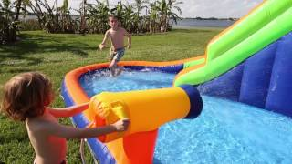 Hydro Rush Inflatable Water Park by Blast Zone