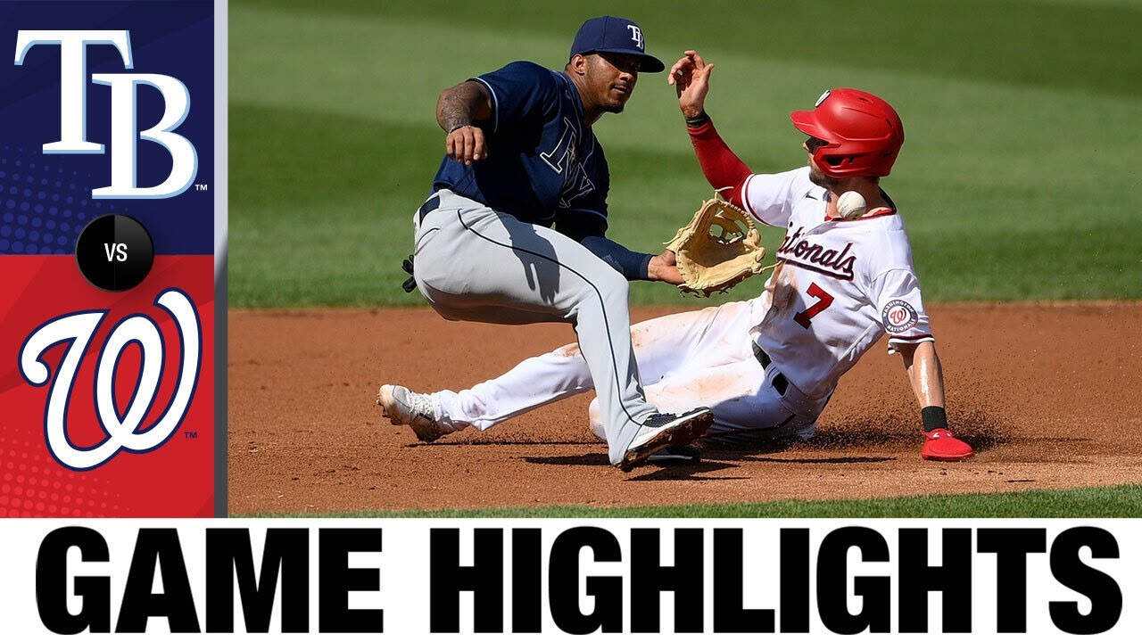 Download Rays vs. Nationals Game Highlights (6/30/21) | MLB Highlights