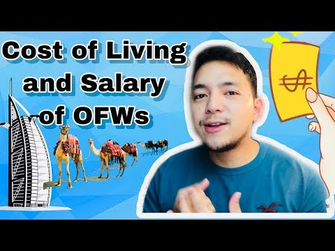 OFW Salary And Cost Of Living | Dubai Abu Dhabi United Arab Emirates UAE | Evan Benedicto