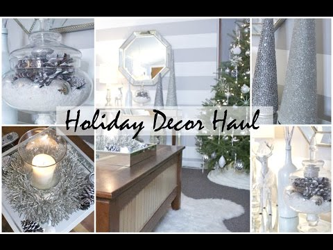 Holiday Home Decor Haul (Small Apartment)   Chelsea Hernandez