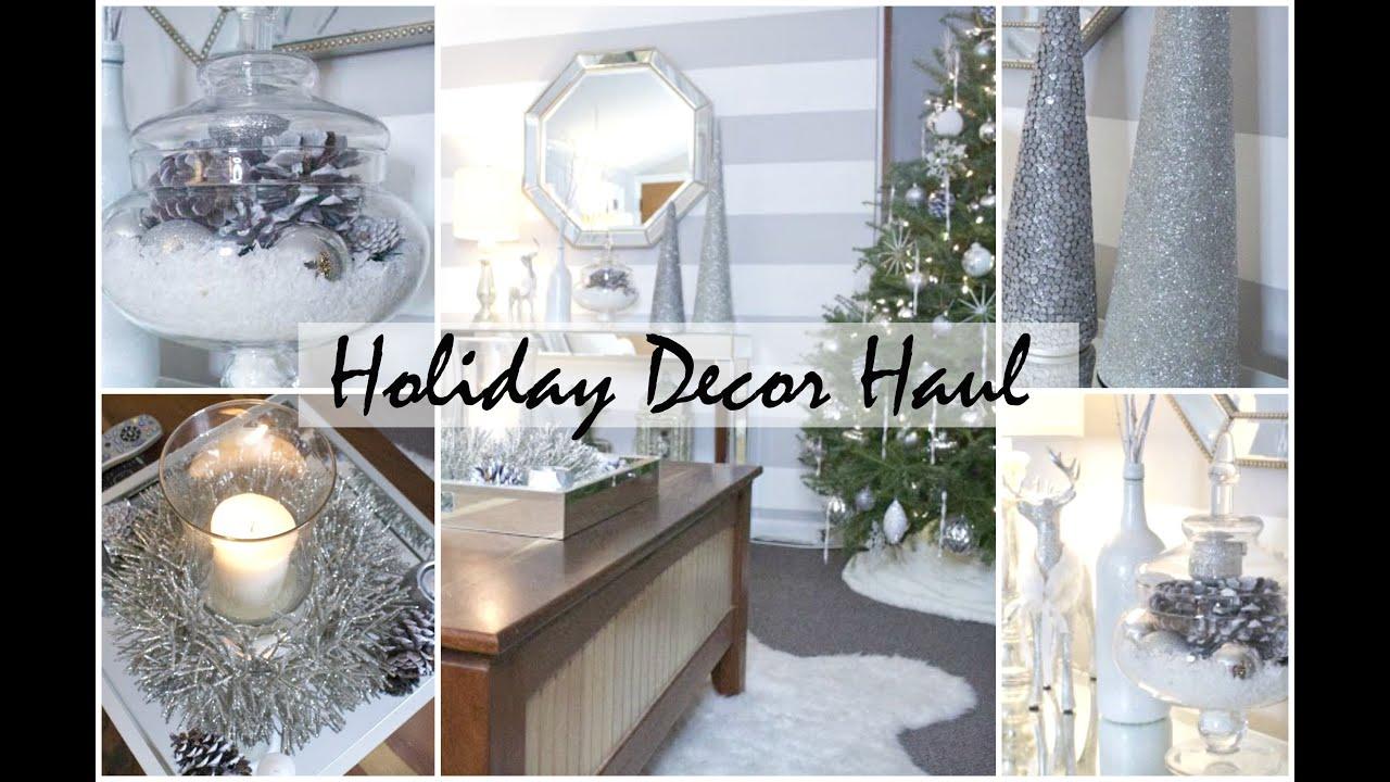 holiday home decor haul (small apartment) | chelsea hernandez