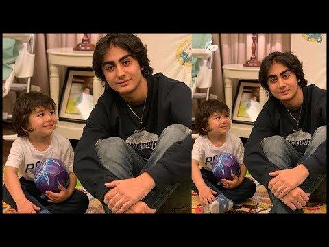 Taimur Ali Khan SPENDS Time With Malaika Arora's Son Arhaan Khan