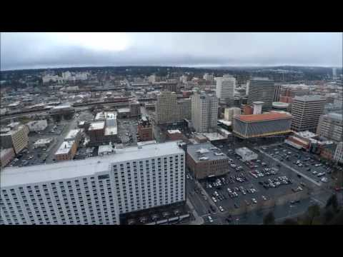 Downtown Spokane wa