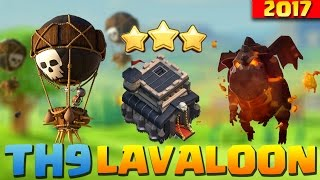Clash of Clans | Th9 Lavaloon Attack Guide | The BEST CoC 3 STAR Attack Strategy For Town Hall 9