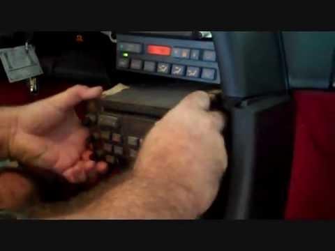 Chevrolet Corvette 19901996 Stereo Removal  YouTube