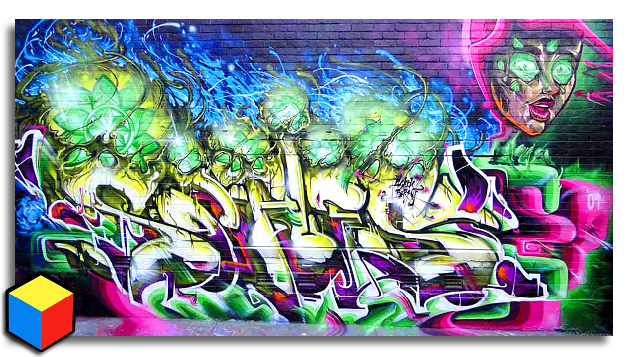 From Sketch To Wall Graffiti Tips