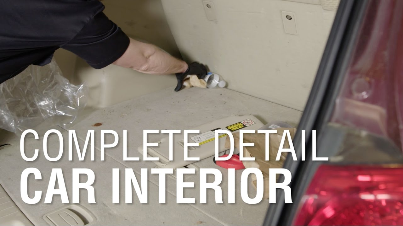 Cleaning Your Car Interior | Autoblog Details | Complete Detail Ep 3
