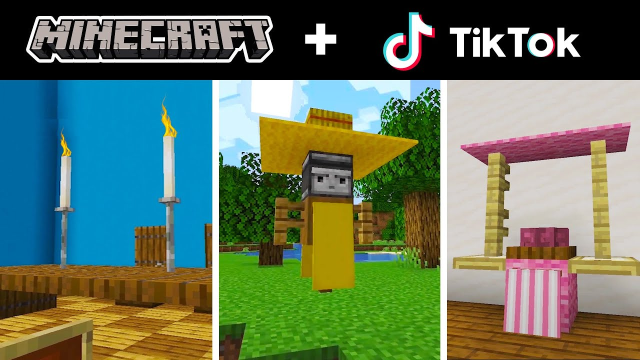 Minecraft Tik Tok Compilation 17