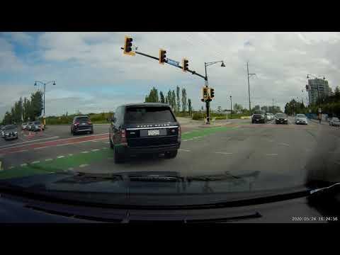 Richmond Driver - Cut across dual left turn lane