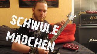 Callejon - Schwule Mädchen (HD Guitar Cover)