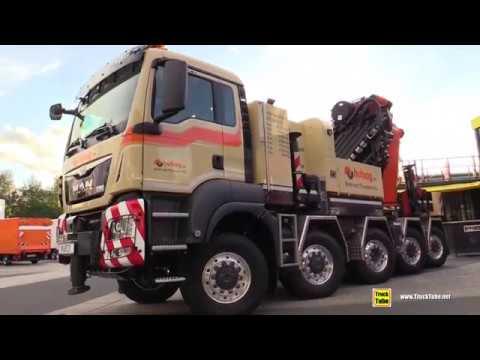 2018 MAN 45 500 Truck 35ton Mobile Crane by Toni Maurer - Walkaround - 2018 IAA Hannover