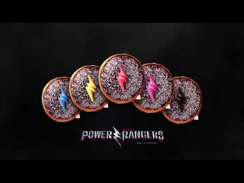 The Power Rangers Doughnuts