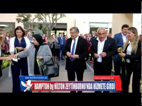 HAMPTON by HİLTON ZEYTİNBURNU'NDA HİZMETE GİRDİ